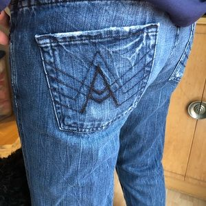 "7 for all mankind ""A pocket"" bootcut jeans"